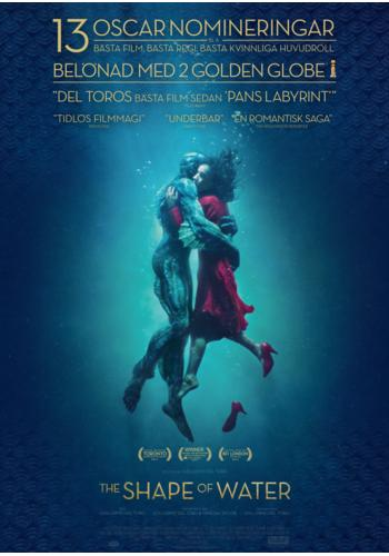 Omslag till filmen: The Shape of Water
